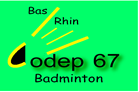 CODEP 67 Badminton